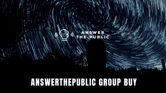 Answerthepublic Group Buy